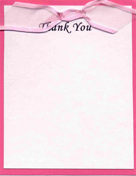 thank you note templates this thank you note is designed to be consistent with the