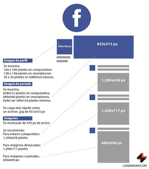 tamaño imagenes para redes sociales gu 237 a de tama 241 os de im 225 genes en redes sociales 2017 luismaram