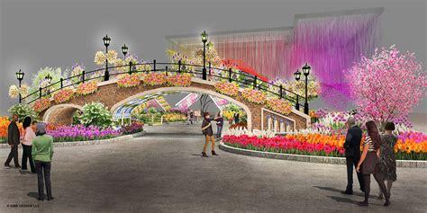 Renderings Of The 2017 Philadelphia Flower Show Entrance Philadelphia Flower And Garden Show
