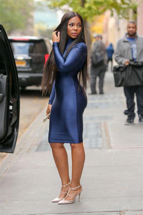 Ashanty Dress ashanti in tight dress at the view 22 gotceleb