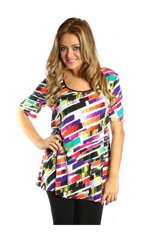 Awiyah Dres Black T3009 3 Tunique Spania Multicolor Modes Gitane Boutique Isla