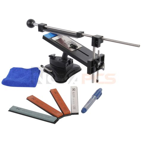 Sharpening Angle For Kitchen Knives Professional Kitchen Sharpening Knife Sharpener System Fix Angle With 4 Stones Ebay