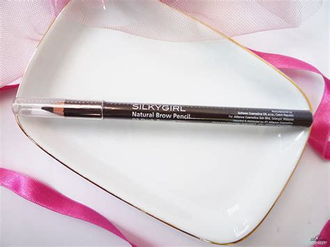 Silkygirl Silver silkygirl brow pencil 02 brown silver