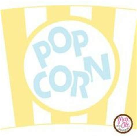 printable popcorn letters 1000 images about max otis designs printable cupcake