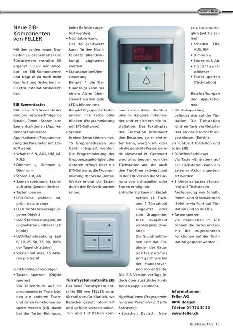 Kann Led Len Dimmen by Knx Swiss Busnews 2003 01 D By Knx Swiss Issuu