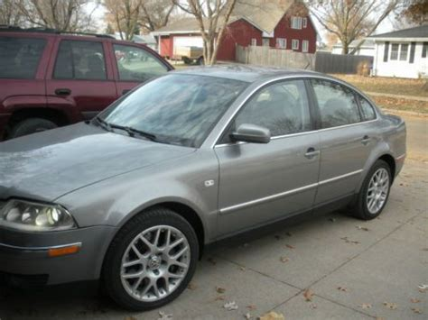 how to sell used cars 2004 volkswagen passat parental controls purchase used 2004 vw passat sedan awd w8 in winterset iowa united states for us 7 500 00