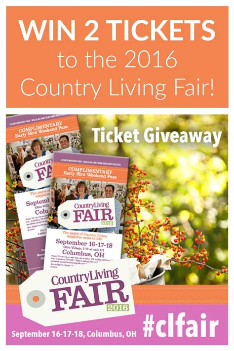 Country Living Giveaways - country living fair 2016 ticket giveaway two purple couches