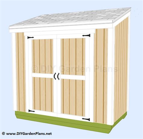 guide free lean to shed design nosote diy lean to shed build it yourself guides and plans