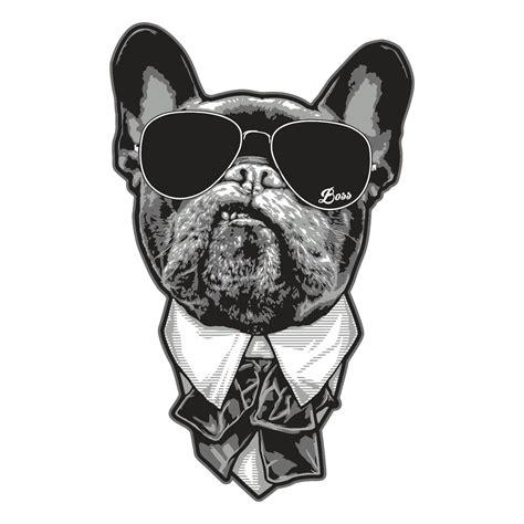 Heckscheibenaufkleber Bulldogge by Aufkleber Bulldog Chef