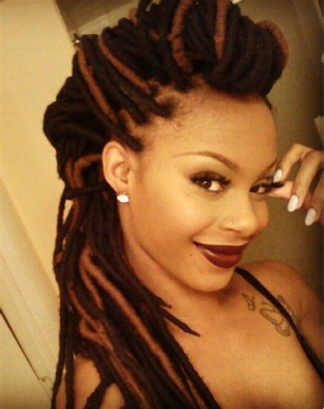 wool hair styles love her yarn braids natural protective hair