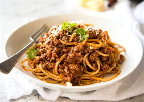 best pasta for bolognese sauce spaghetti bolognese recipe dishmaps