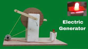 how to make at home how to make a operated electric generator at home