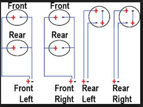 wiring diagram 6 speakers 4 channels wiring get free