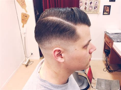 skin tight fade ponytail skin tight medium fade last of the day the barber s