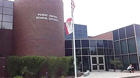 Poway Unified School District Address Lookup Poway Schools Vow Rev In Of Data Release Times Of San Diego