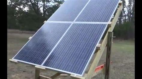 Solar Panel Water Heater repaired water heater built adjustable solar panel rack