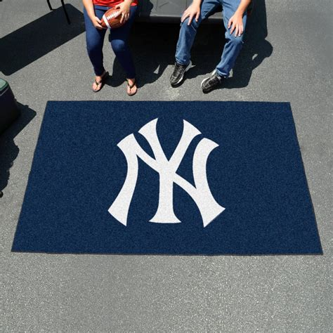 New York Yankees Area Rug Fan Mats 6344 Mlb New York Yankees 5 X 8 Ulti Mat Area Rug Mat
