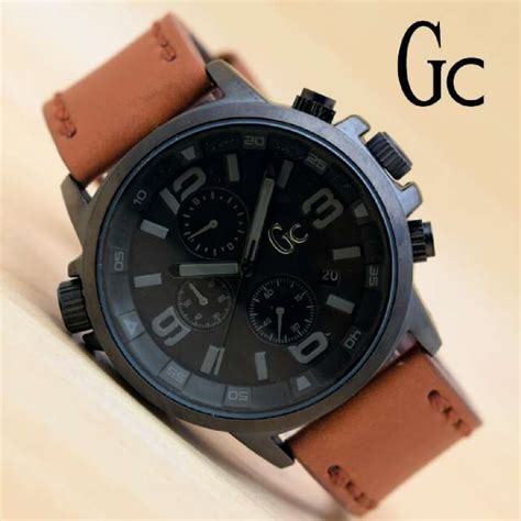 Jam Tangan Wanita Gc Date Crono Aktif Leather harga jam tangan pria swiss army time leather