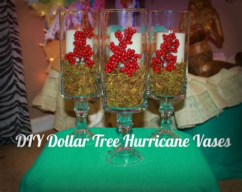christmas decorating with hurricane ls diy dollar tree hurricane vases for christmas youtube