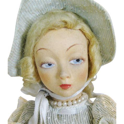lenci boudoir doll lenci small boudoir doll circa 1930s from