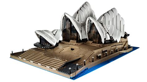 the new lego opera house is almost 3000 bricks
