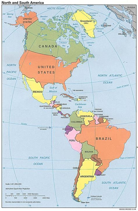 map of countries of america america of lieke