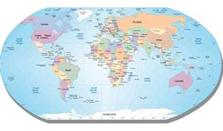 how many countries are there in the world facts quest
