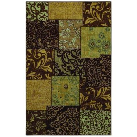 home depot mohawk area rugs mohawk home afton antique 5 ft x 8 ft area rug 286774 the home depot