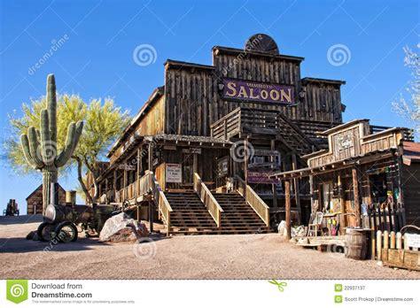 Old Saloon stock image. Image of ghost, arizona