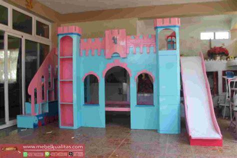 Interior Satu Set Kamar Anak kamar tidur anak set playground model terbaru mebel jati
