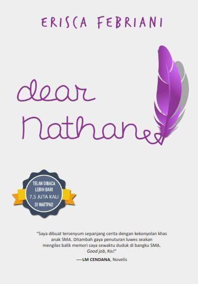 Dear Nathan By Teladan Book Store buku dear nathan erisca febriani mizanstore