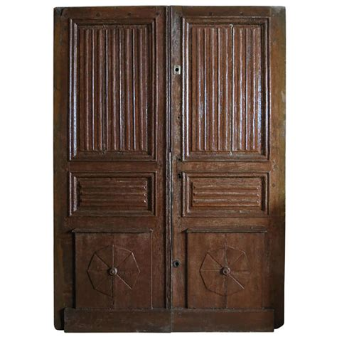 Larmon Furniture by Louis Xiii Style Entrance Doors Oak Circa 1700s Gardens Modern And