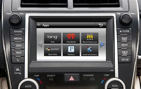 Toyota Touch Apps Toyota Applies For Touch Based Infotainment Interface