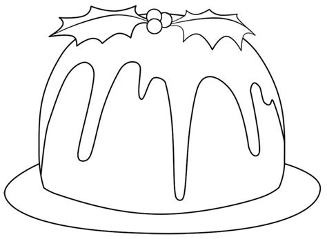 christmas cake coloring pages 17 best images about coloring pages on pinterest frozen