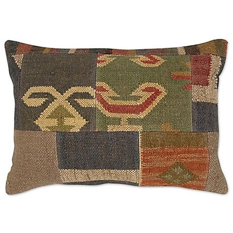 Patchwork Bed Throw - patchwork rectangle throw pillow bed bath beyond