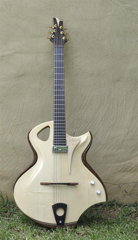 Handmade Archtop Guitars - quot stardust quot handmade hollow archtop ergonomic guitars