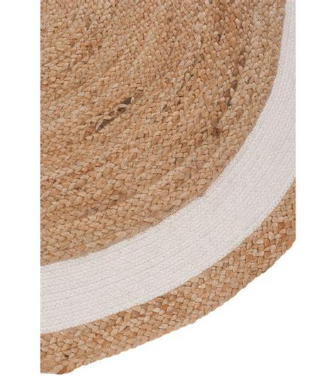 Tapis Rond Coton tapis rond jute et coton