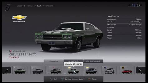gt5 best car gt5 classic cars