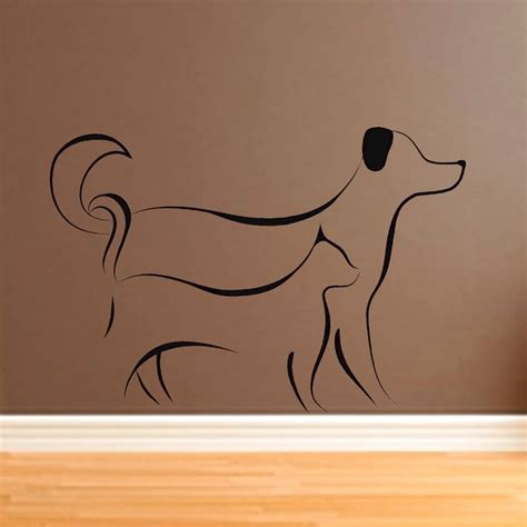 Wall Sticker Wallsticker Forever Friendship Sk7097 17 best images about decals on etsy store cats and puppies and kittens
