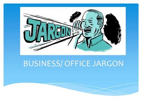 Office Jargon Business Jargon