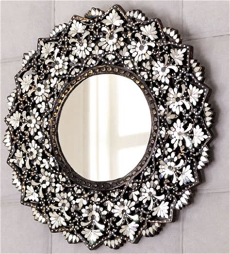 Designer Home Decor Accessories cut glass mirror interior design inspiration eva designs