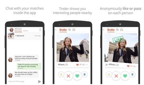 Tinder dating app for computer