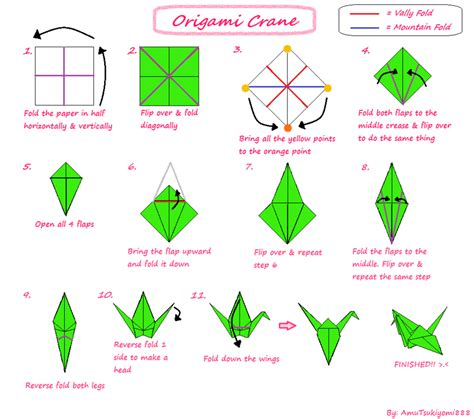 How To Do An Origami Crane - origami tutorials album on imgur