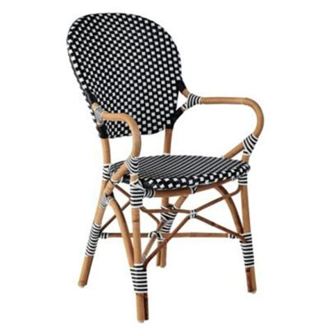 White Bistro Chair Black White Bistro Chair Patios Balconies Pinterest