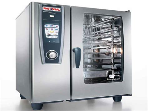 Oven Rational rational scc61 rational scc61 self cooking center combination oven gas combination ovens