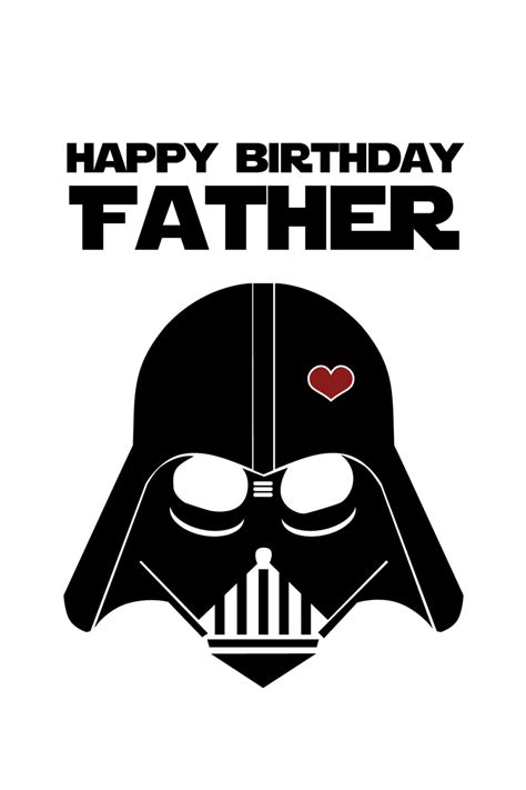 printable birthday cards star wars free star wars funny birthday card for dad diy printable