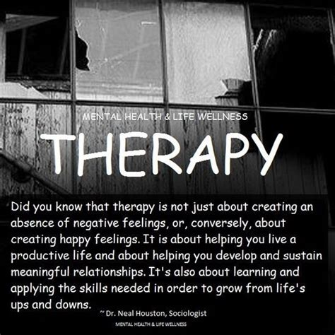 what is therapy in mental health mental health therapist quotes quotesgram