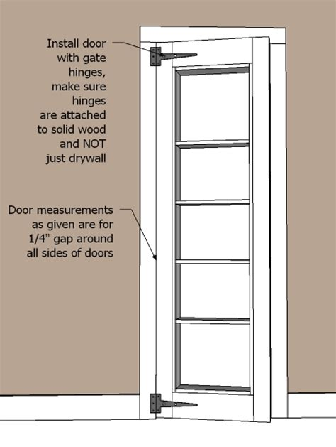 pdf door bookcase plans plans free