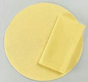 tag woven placemats yellow set of 4 co uk