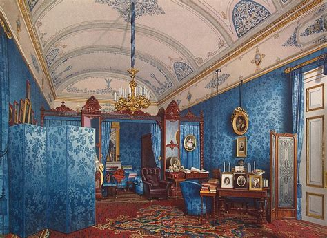 Black Staircase interiors of the winter palace the dressing room of